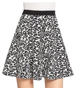 Rebecca Taylor Mini Skirt Black/White
