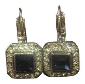 Chloe + Isabel Crystal square drop earrings