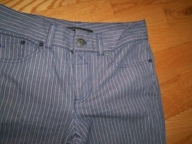 Marc by Marc Jacobs Leg 12 Skinny Pants Purple/pink/blue stripe