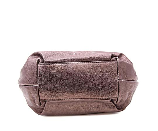 Salvatore Ferragamo Leather Others Purple 14bdom384 Shoulder Bag