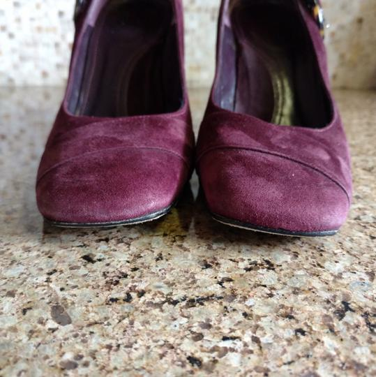 Via Spiga Burgandy Pumps