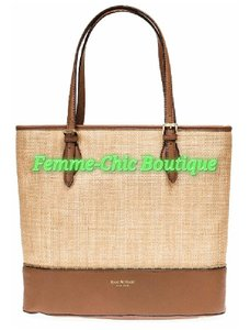 Isaac Mizrahi Stachels Tote in Camel