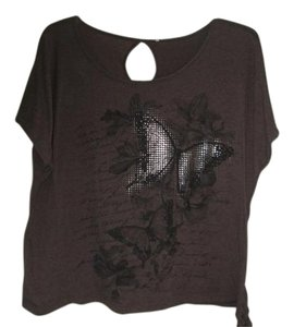 Dirty Laundry Top Brown