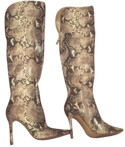Guess Snake print Boots