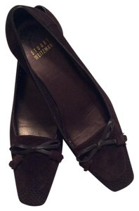 Stuart Weitzman Mahogany Brown Pumps