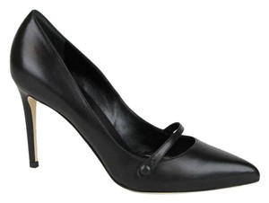 Gucci Classic Leather Pointy Toe Black1000 Pumps