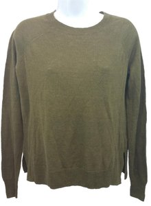 J.Crew Brown Knit Linen Sweater
