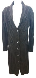 Lapis Knit Sweater Dress Cardigan