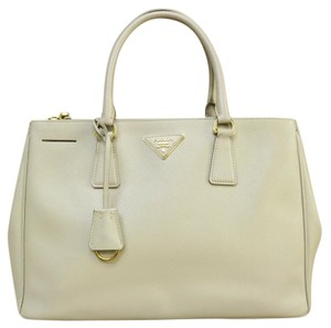 Prada Medium Double Zip Saffiano Satchel