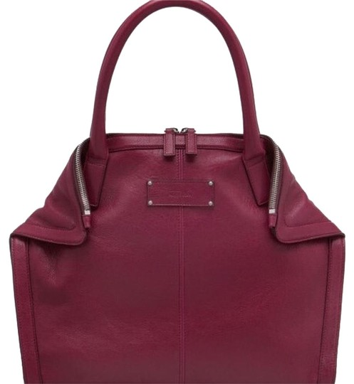 Preload https://img-static.tradesy.com/item/19349459/alexander-mcqueen-prune-leather-tote-0-2-540-540.jpg