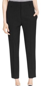 Vince Pencil Baggy Capri/Cropped Pants Navy Blue