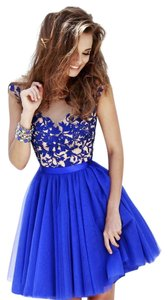 Sherri Hill Homecoming Prom Lace Short Dress
