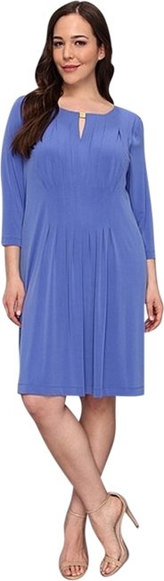 Tahari New With Tags Matte Jersey Louisa Dress