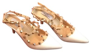 Valentino Cream Platforms
