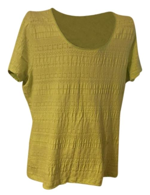 Preload https://item4.tradesy.com/images/liz-claiborne-lime-green-crinkle-soft-knit-xl-nice-tee-shirt-size-18-xl-plus-0x-19351023-0-1.jpg?width=400&height=650