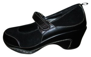 Rialto Leather Man Made black Mules