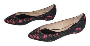 MCQ by Alexander McQueen Chic Design Made In Italy Green/Trench/Pink Flats