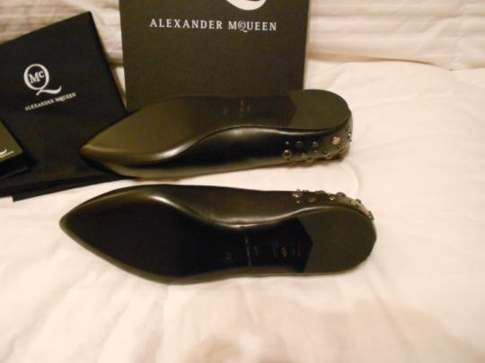 MCQ by Alexander McQueen Chic Design Made In Italy New Never Worn Black Flats