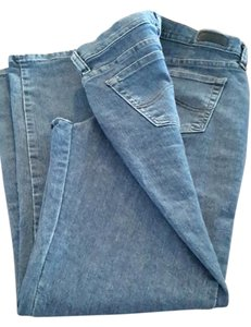 Lee Sz 6s Denim Straight Leg Jeans-Medium Wash