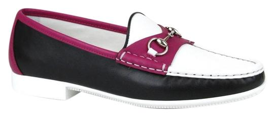 Preload https://item4.tradesy.com/images/gucci-black-white-magenta-1071-horsebit-womens-rafer-leather-loafer-moccasins-345us-45-338358-flats--19351248-0-2.jpg?width=440&height=440