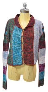 Other Vintage Vintage Cardi Vintage Sweater Color-blocking Bohemian Boho Cardigan