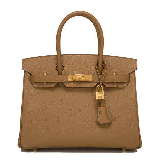 Hermès Tote in Alezan Brown