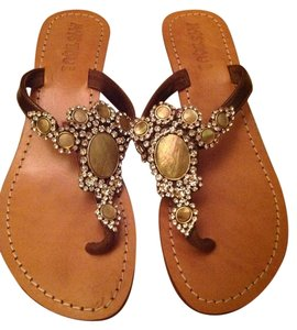 Mystique Boutique Tan Sandals