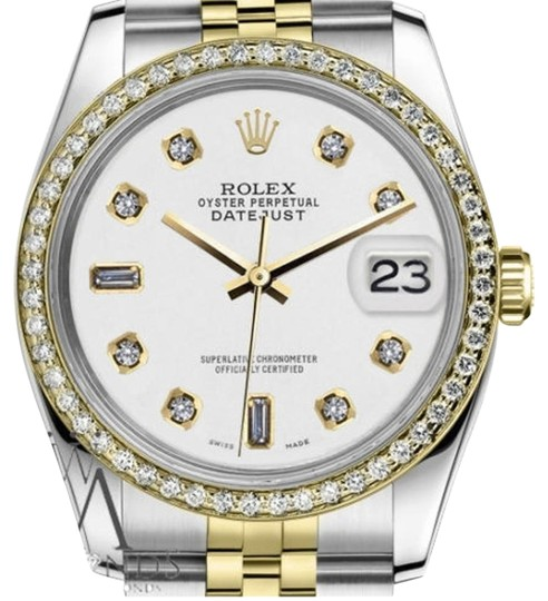 Preload https://item1.tradesy.com/images/rolex-women-s-26mm-datejust-2-tone-white-color-dial-with-82-diamond-accent-watch-19351455-0-3.jpg?width=440&height=440