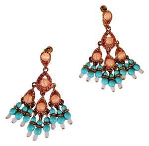 Joan Rivers Joan River Collection Earrings Gold Plated