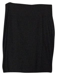 Eileen Fisher Stretch Crepe Gray Versatile Skirt