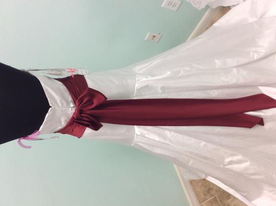 Alfred Angelo White 2185 Formal Wedding Dress Size 14 (L)