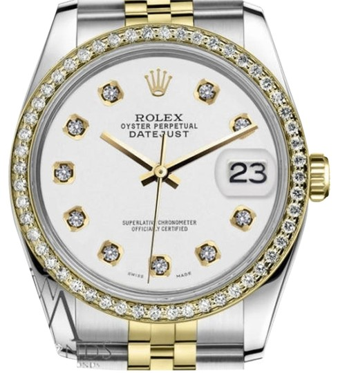 Preload https://img-static.tradesy.com/item/19351562/rolex-women-s-26mm-datejust-2-tone-white-color-dial-diamond-accent-watch-0-1-540-540.jpg