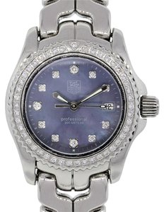 TAG Heuer Tag Heuer WT131F Link Professional Diamond Dial & Bezel Ladies Watch