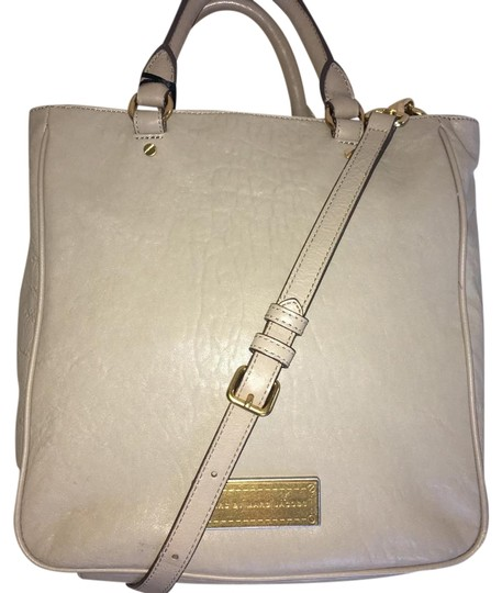 Marc Jacobs Washed Up Messenger Crossbody Satchel in Cement Gray