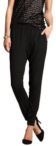 Banana Republic Baggy Pants Black