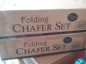 New Chafer Folding Set