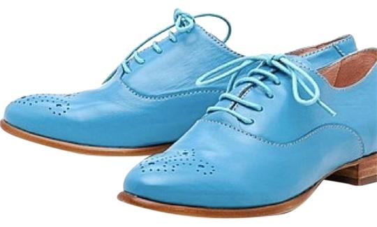 Preload https://item2.tradesy.com/images/basic-editions-blue-genuine-leather-oxfords-flats-size-us-7-regular-m-b-19351896-0-1.jpg?width=440&height=440