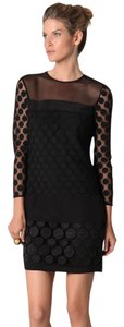 Diane von Furstenberg Polka Dot Shift Dress