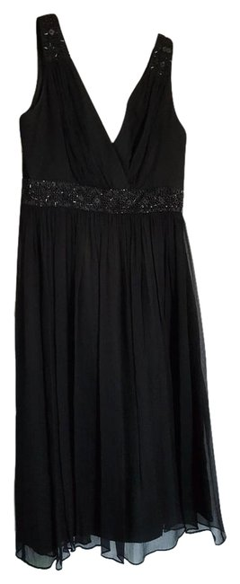 Preload https://item5.tradesy.com/images/maggy-london-black-beaded-v-neck-knee-length-cocktail-dress-size-2-xs-19352054-0-1.jpg?width=400&height=650