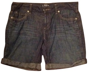 Ann Taylor LOFT Cuffed Shorts Medium denim