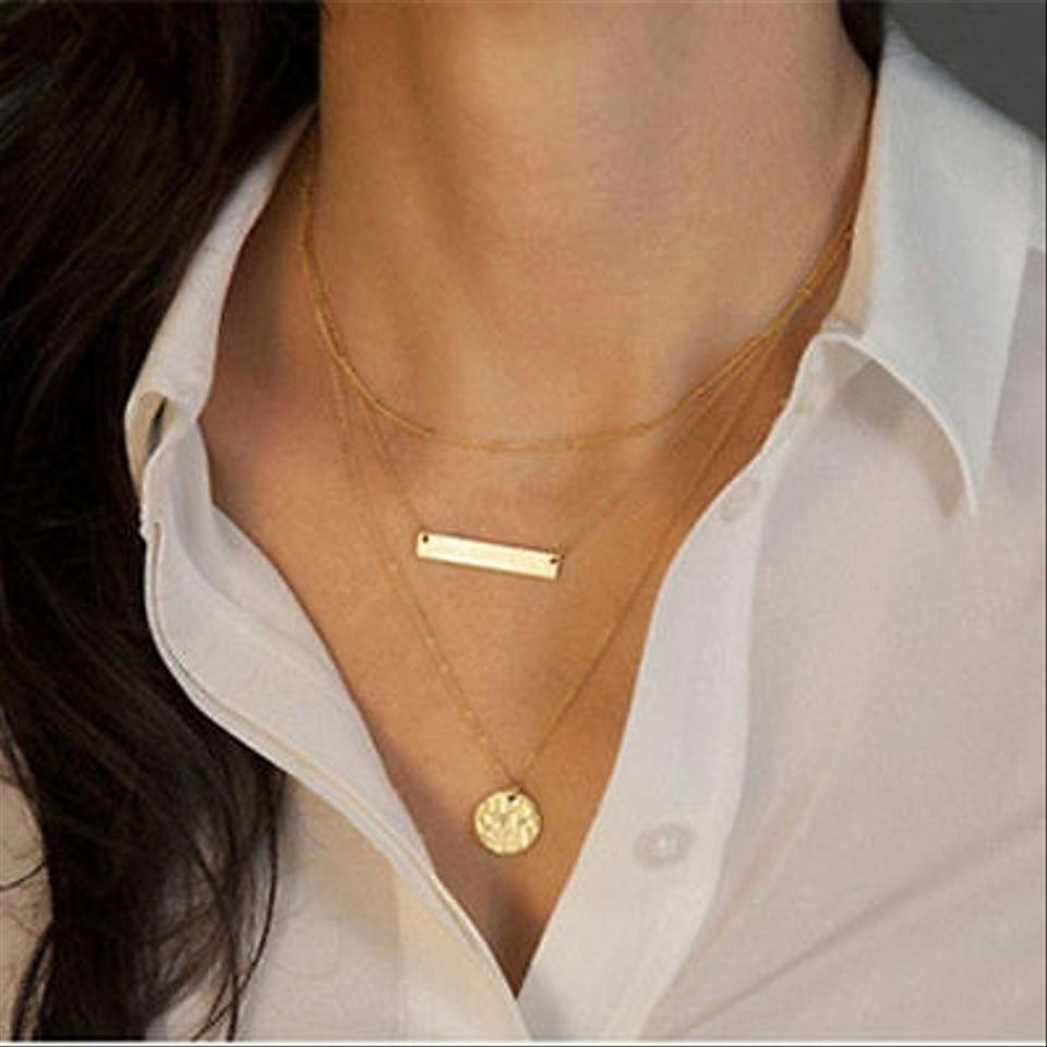 il horizontal listing zoom fullxfull bar necklace small gold sideways thin