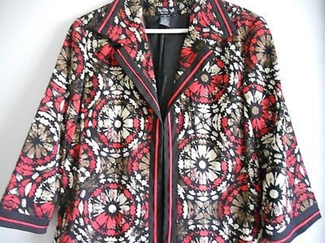 Ivy Chic Basic Multi-Color Jacket
