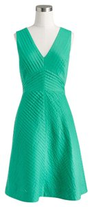 J.Crew short dress succulent green on Tradesy