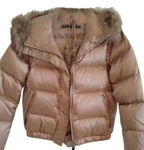 Andrew Marc Puffer Gold Jacket