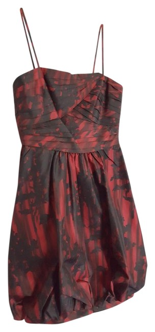 Preload https://img-static.tradesy.com/item/19352501/bcbgmaxazria-black-and-burgundy-bubble-mid-length-cocktail-dress-size-2-xs-0-1-650-650.jpg