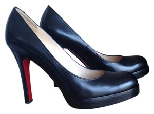 Christian Louboutin Leather BLK Pumps