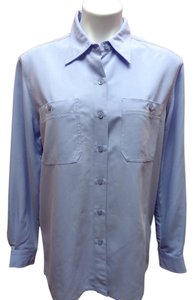 Liz Claiborne First Issue Button Down Shirt Light Purple