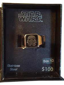 Disney Star War Stainless Steel Ring Size 10