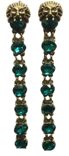 Preload https://item5.tradesy.com/images/gold-lion-head-electro-plated-emerald-sinox-crystals-post-earrings-19352974-0-1.jpg?width=440&height=440