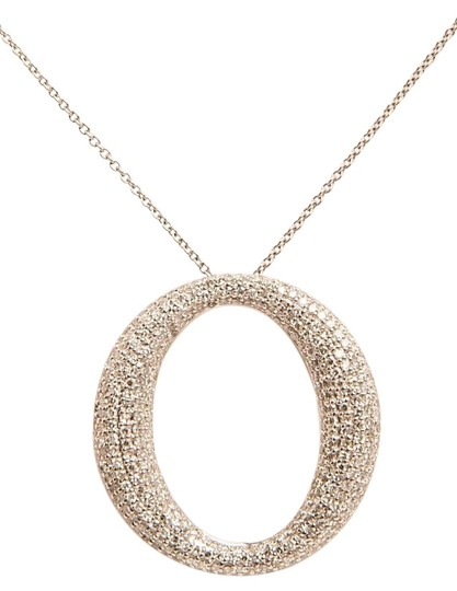 Preload https://item2.tradesy.com/images/g-color-vs-si-clarity-oval-diamond-pave-set-necklace-19352991-0-3.jpg?width=440&height=440